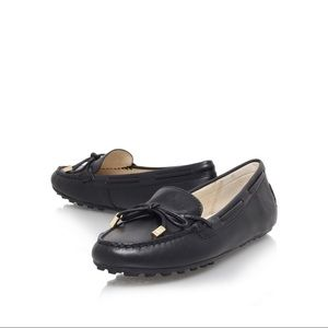 Michael Kors Daisy Leather Moccasin Loafers